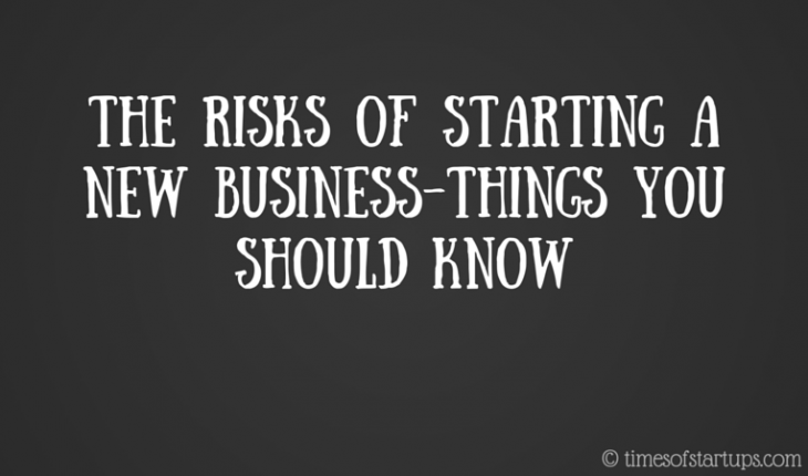 risks of starting a new business