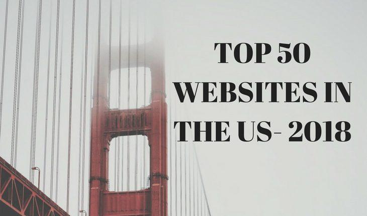 Top websites in USA