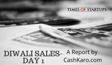 diwali sales report by cashkaro