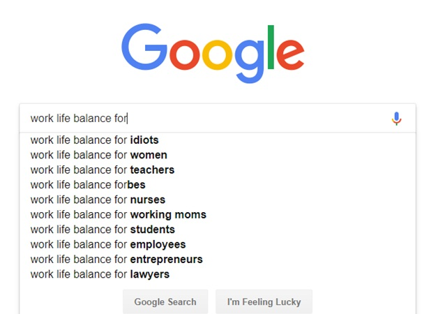 work life balance for men