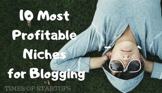 10 Most Profitable Niches for Blogging