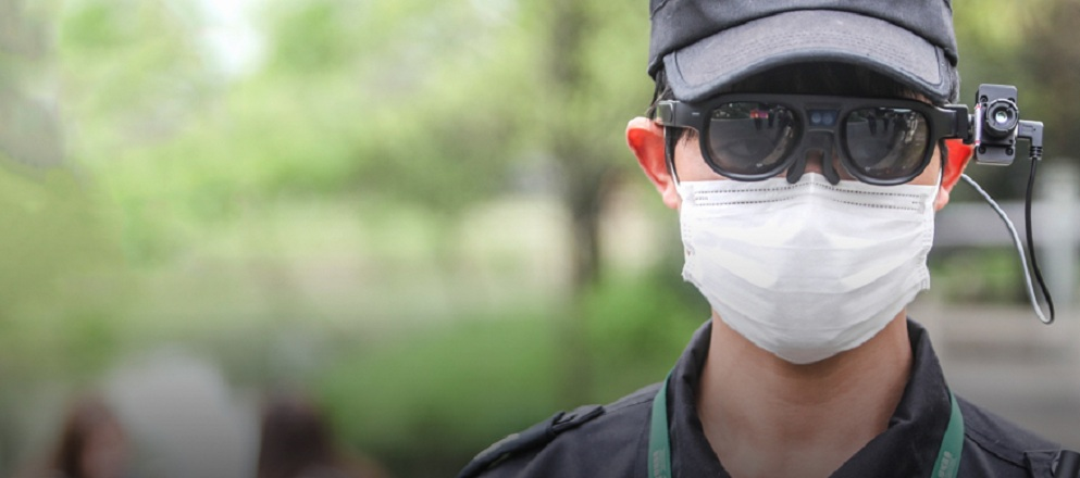 rokid covid 19 detection glasses